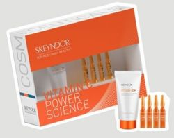 Kit Power C 1 Creme Power C+FPS 15 25ml  + 4 ampolas vitamina c pura